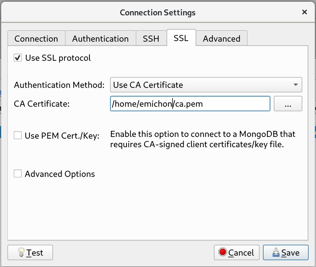 Access your MongoDB database with Robo 3T - Scalingo