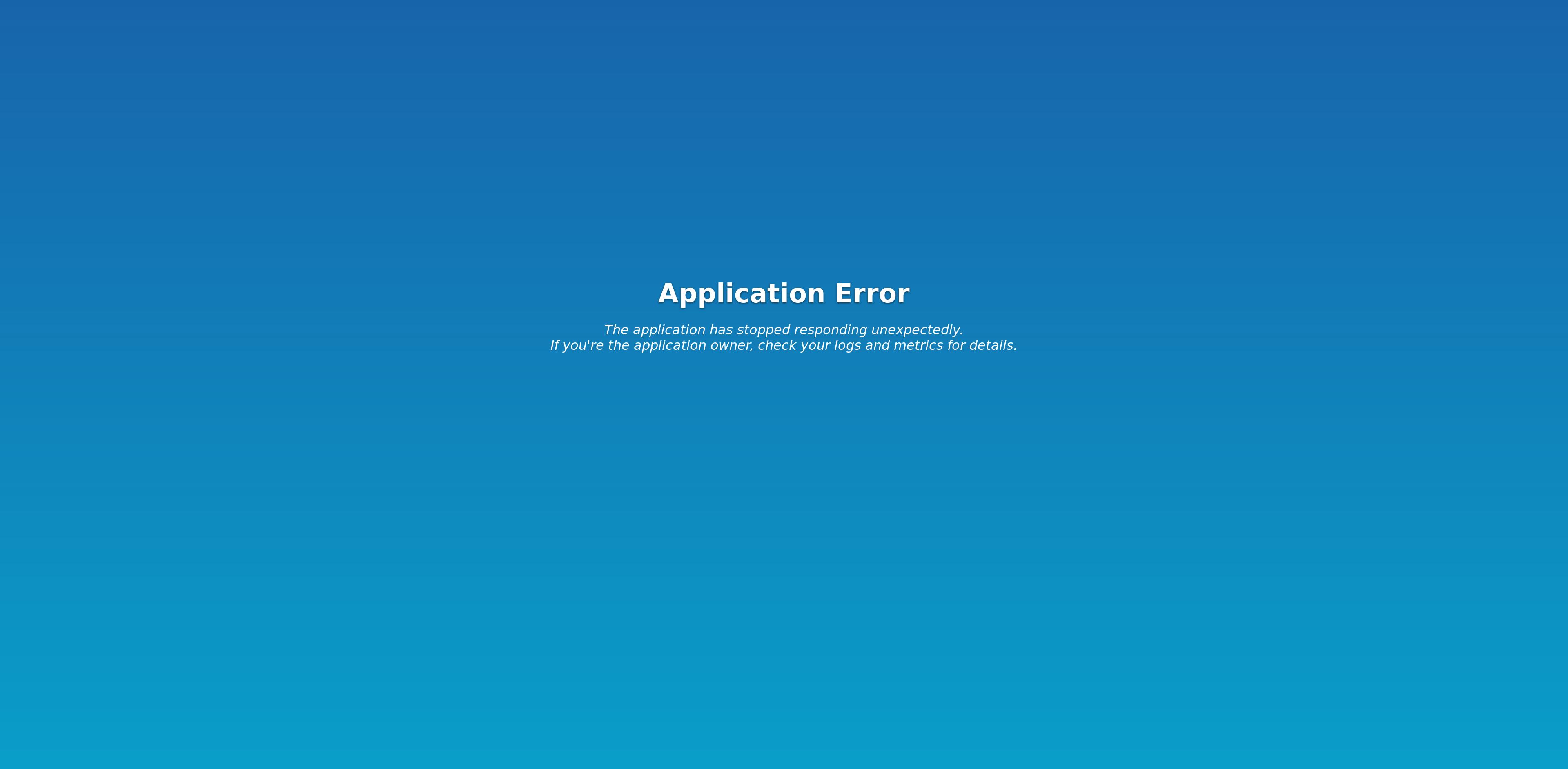 Custom Error and Maintenance Pages - Scalingo