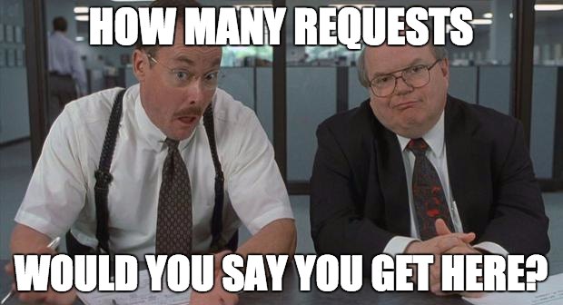 How many requests?